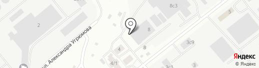 ТомПласт на карте Томска