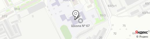 Парус на карте Томска