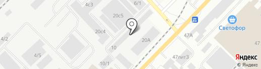 Аквилон на карте Томска
