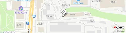 ДКСАВТО на карте Томска