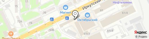 СветЛэнд на карте Томска