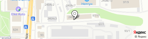Еврошина Томск на карте Томска