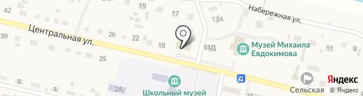 Берёзка на карте Верха-Обского