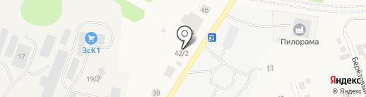 ССМ-плюс на карте Зональной станции