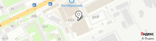 Ля Флер на карте Томска