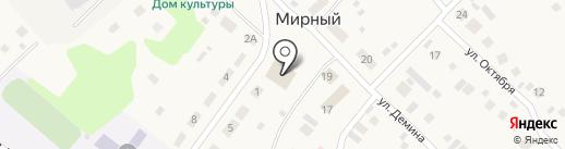 Корзинка Подольницких на карте Мирного