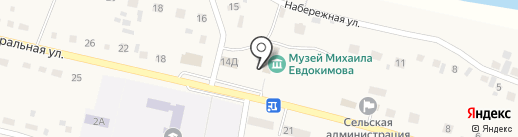 Модельная поселенческая библиотека на карте Верха-Обского
