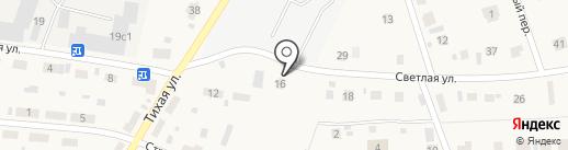 АКСИОМА на карте Зональной станции