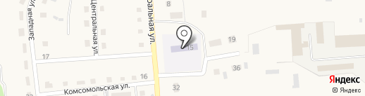 Чайка на карте Кировского