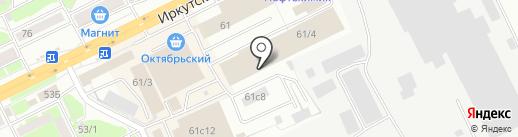 Sushi Hino на карте Томска