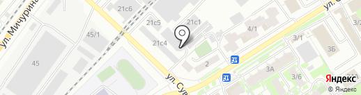 Инстал-Авто на карте Томска