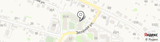 Чудесница на карте Зональной станции