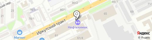 Первая ракетка на карте Томска