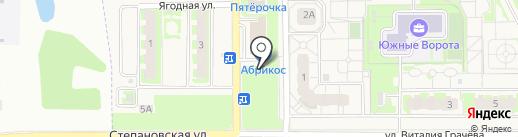 Жасмина на карте Зональной станции