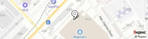 Светофор на карте Томска