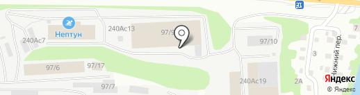 Мит-Инвест на карте Томска