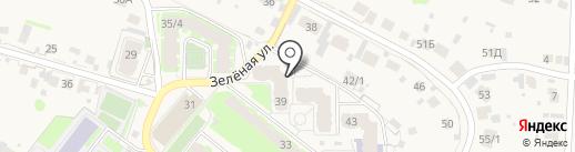 Пенный на карте Зональной станции