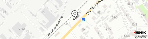 Шиномонтажная мастерская на карте Томска