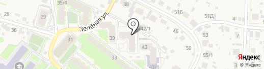 Green Street Gym на карте Зональной станции