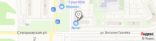 ПИВНОВ на карте Зональной станции