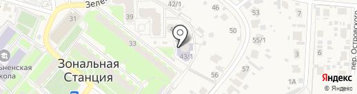 Мелиоративный 43, ТСЖ на карте Зональной станции