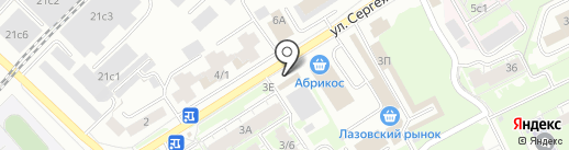Кафе-шашлычная на карте Томска