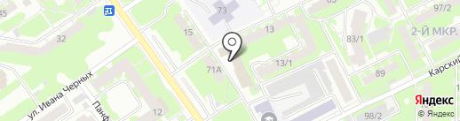 УТЁНОК на карте Томска