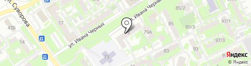 У Михаила на карте Томска