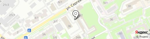 Магазин сумок и кошельков на карте Томска