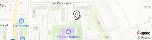 Южные ворота на карте Зональной станции