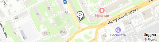 Фараон на карте Томска