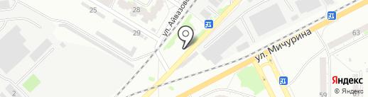 Доктор шин на карте Томска