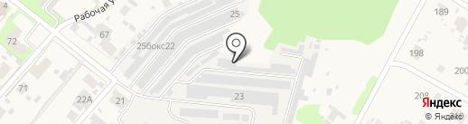 Компания по изготовлению и продаже строительных блоков и тротуарной плитки на карте Зональной станции