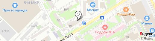 Мастерская по ремонту компьютеров и сотовых телефонов на карте Томска