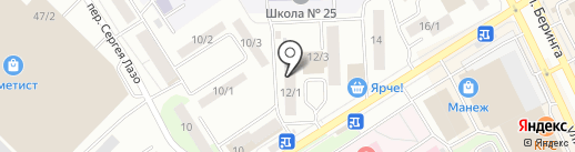 Ваш мастер на карте Томска