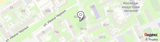 Домашний на карте Томска