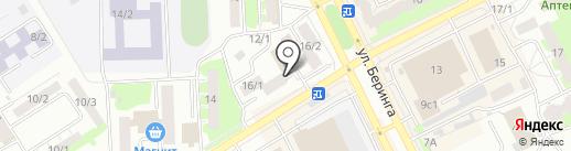 Валентина на карте Томска