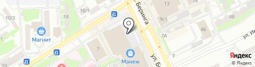 Банкомат, Газпромбанк на карте Томска