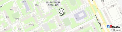 Хмельная лавка на карте Томска