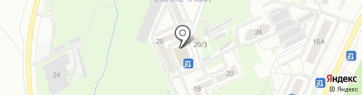 Томские Розы на карте Томска
