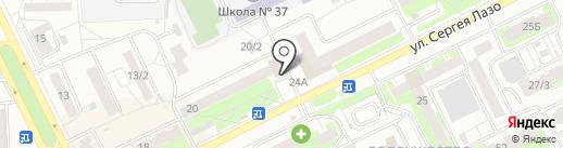 Швейная мастерская на карте Томска