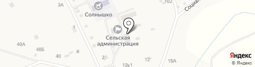 Дом Молитвы на карте Новой Чемровки