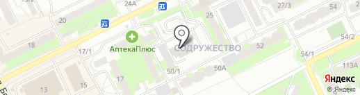 У.М.Н.И.К. на карте Томска