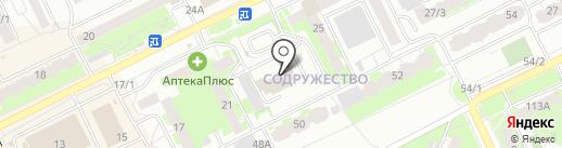 BEST на карте Томска