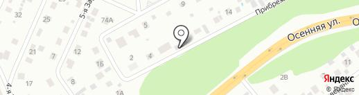 Служба отогрева автомобилей на карте Томска