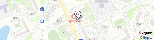 Магазин мясных продуктов на карте Томска