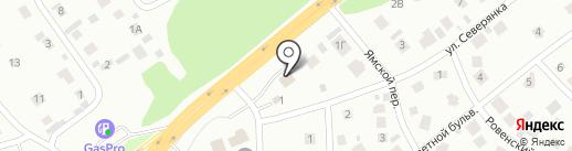 Jack-auto на карте Томска