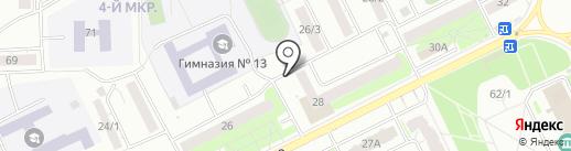 Универсал сервис на карте Томска