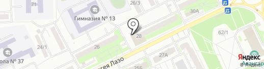 СКБ Факел на карте Томска