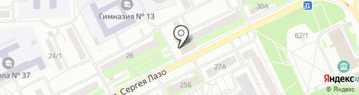 Пивбум на карте Томска